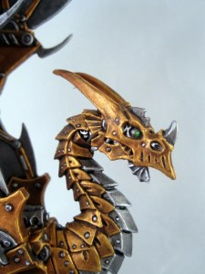 Clockwork Dragon Face