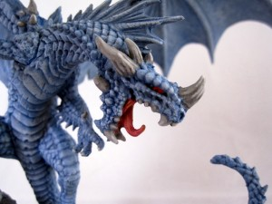 Pathfinder Ice Dragon Face