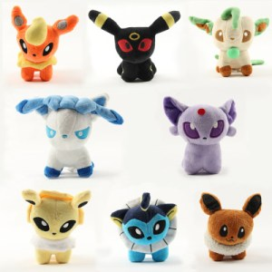 Eevee Evolutions Plush