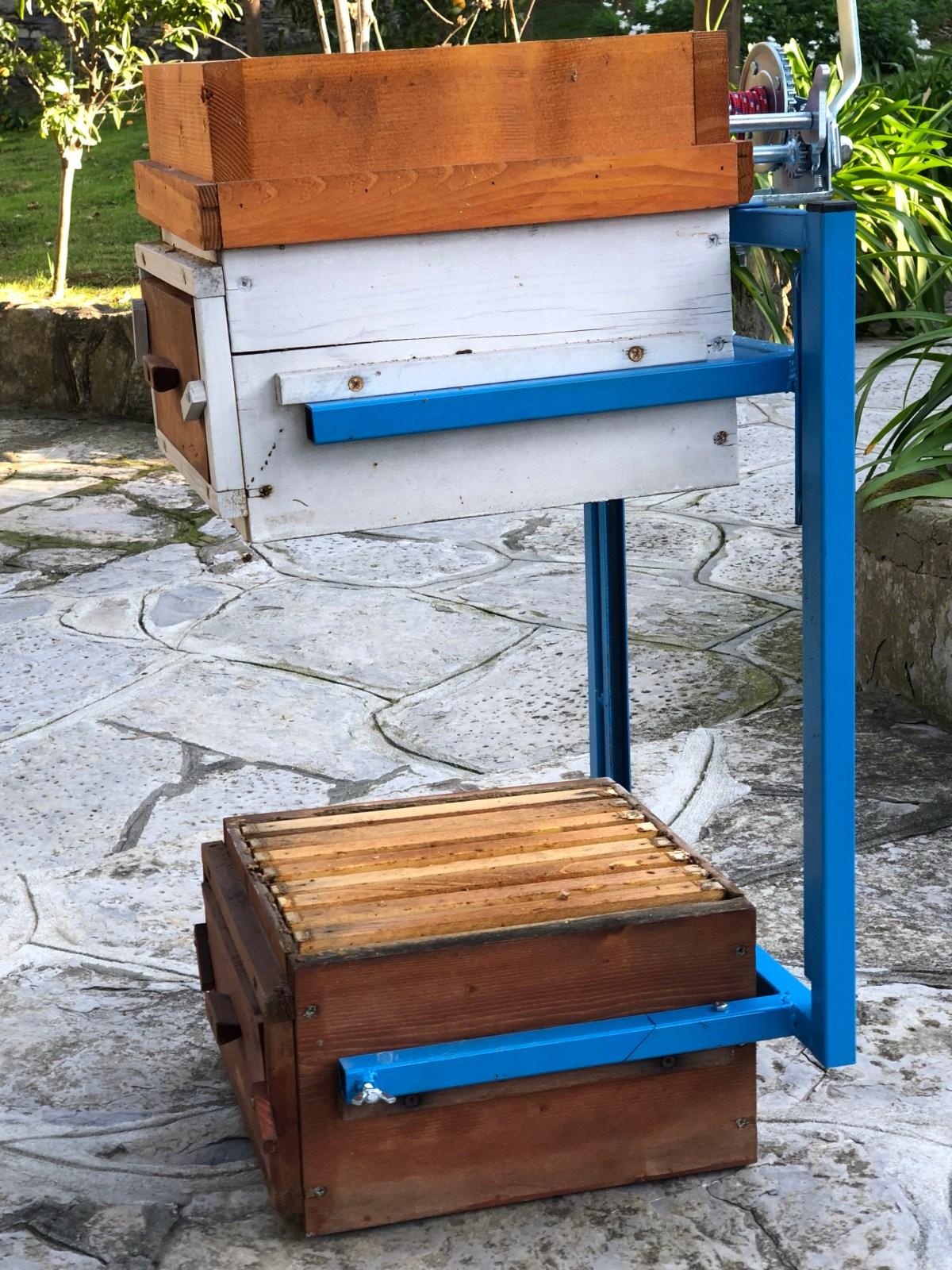 Sollevatore Warré apicoltura