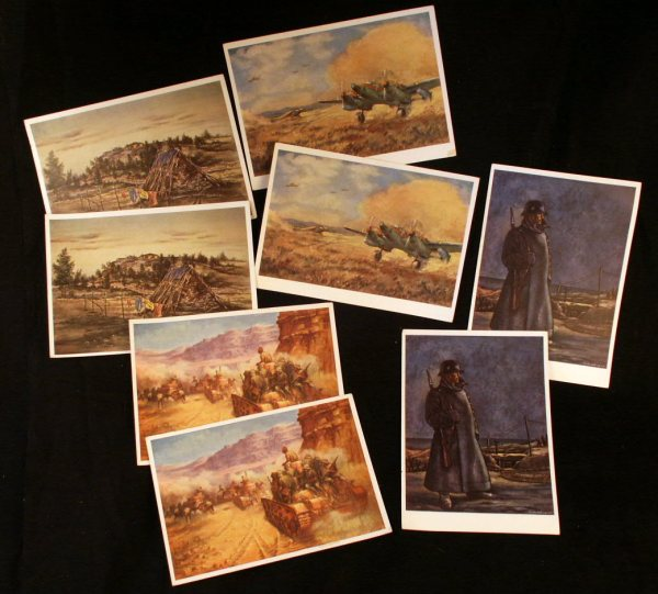 German Art Postcards