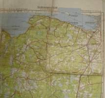 Mapping Leningrad Narva 58 Inf Div