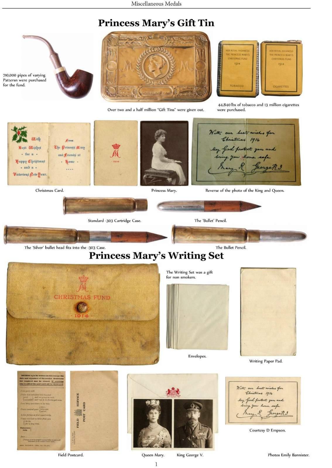 1914 Princess Mary Tin 1914 2014 Page 2