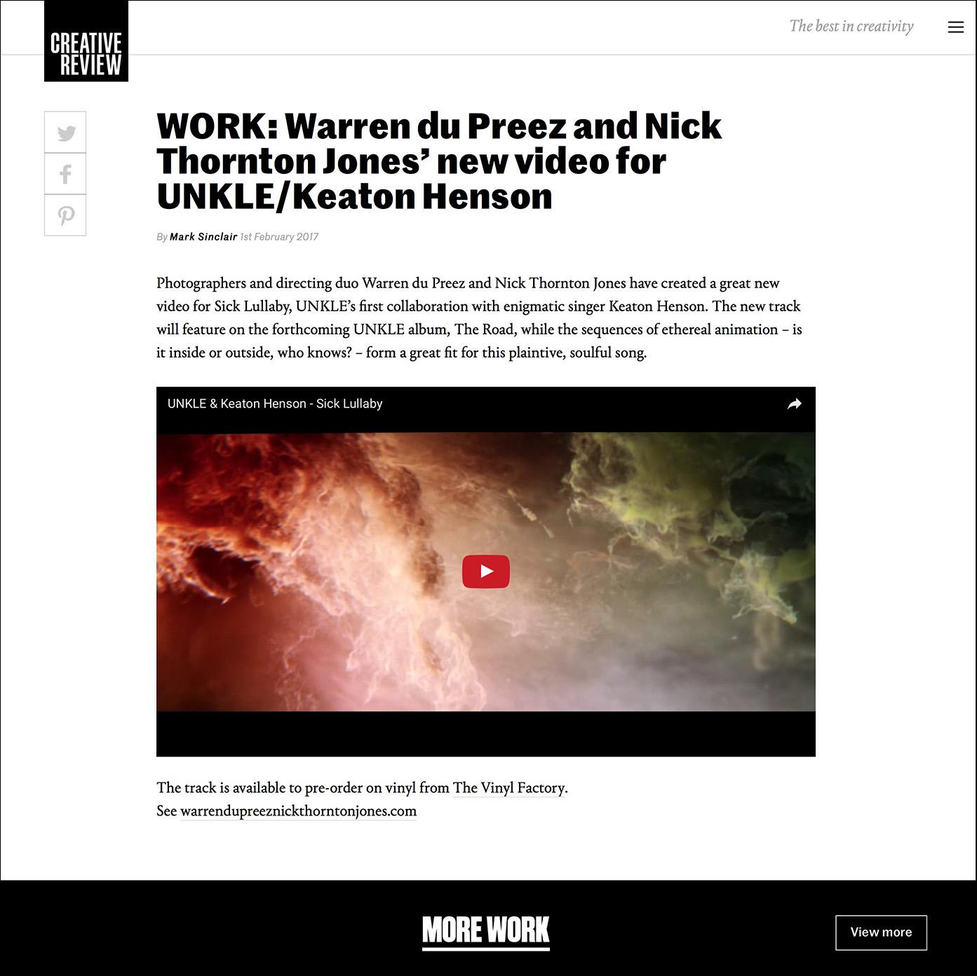 web article unkle
