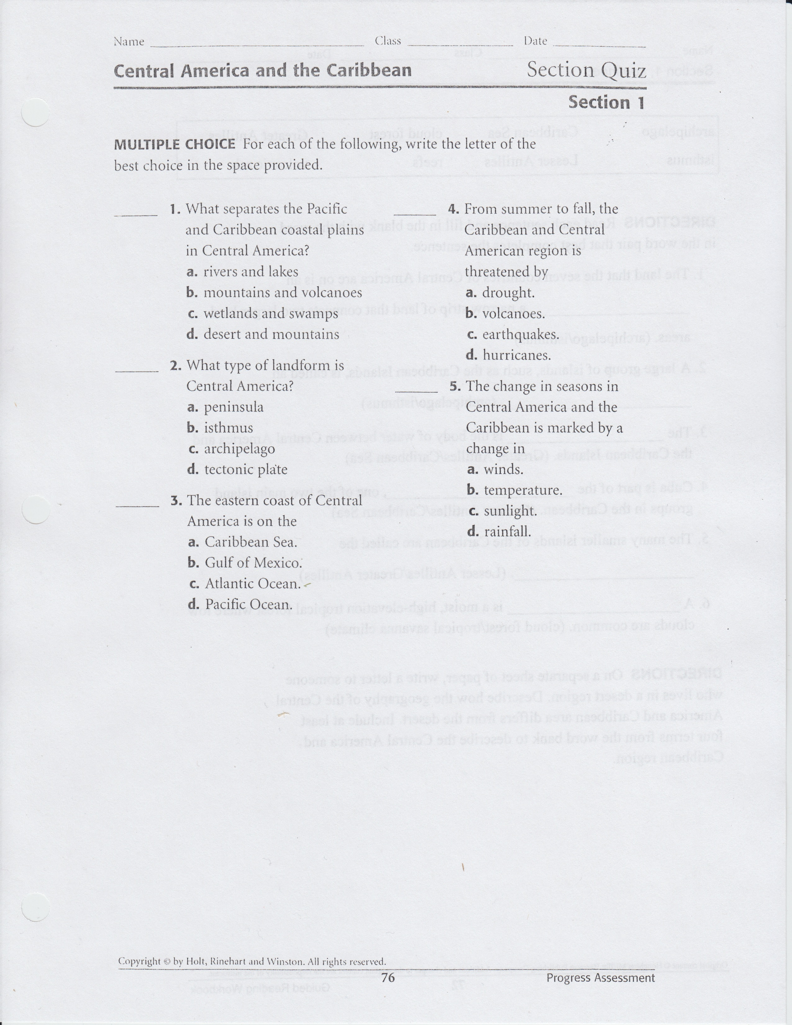Kavcak Kimberly 2nd Marking Period Class Worksheets Rubics Notes And Study Guides
