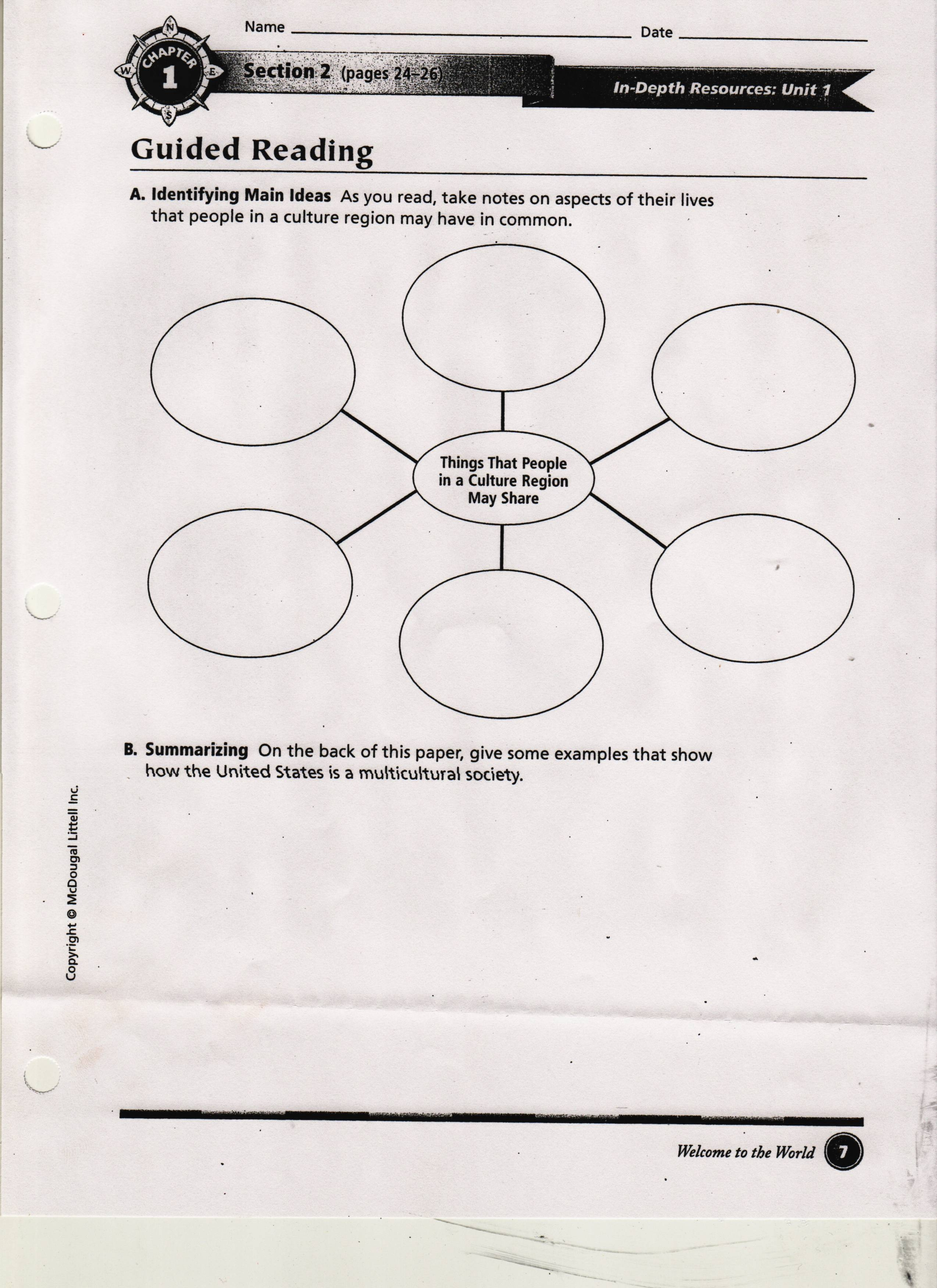 Kavcak, Kimberly / 1st Marking Period Class worksheets