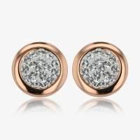 Stephanie Earrings Made With Swarovski  Crystals