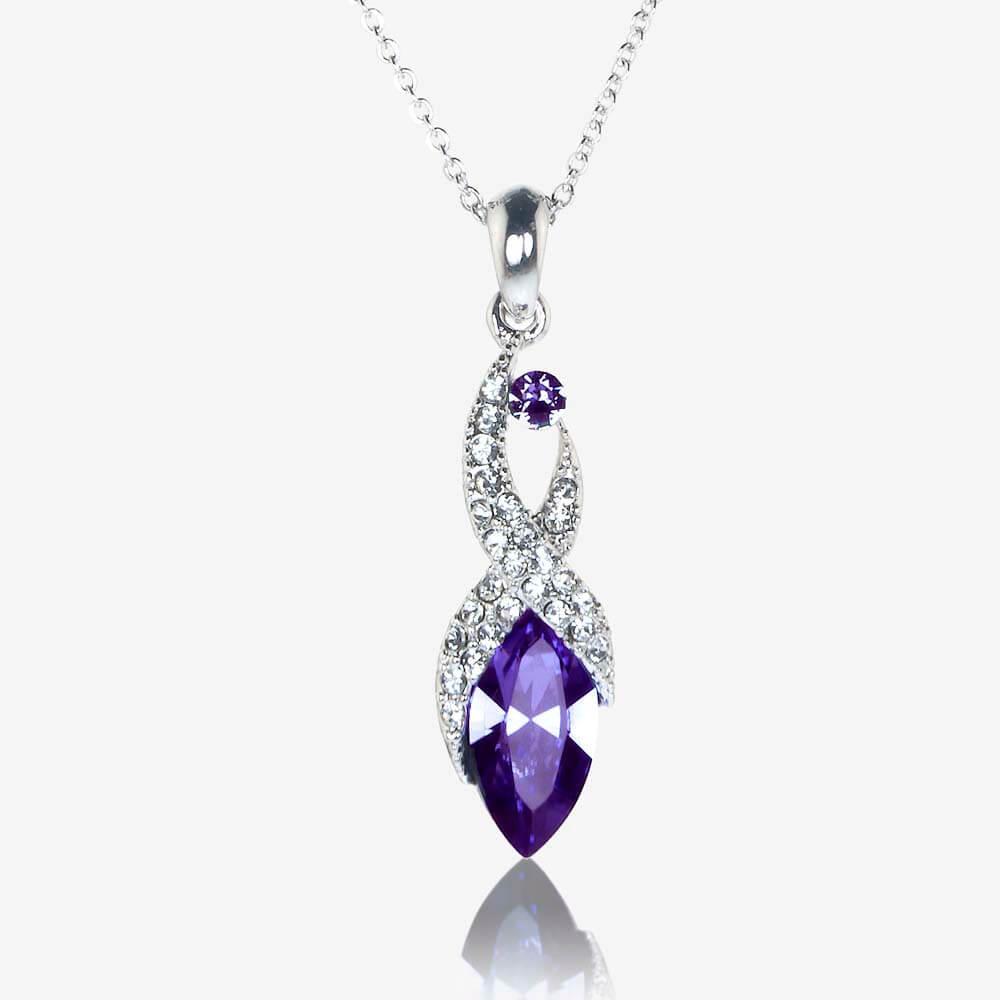 Biarritz Necklace Made With Swarovski Crystals