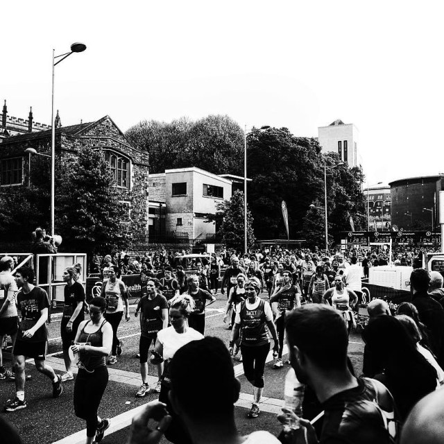 Inspiring stuff from the 13000 people completing the Bristol10k yesterdayhellip