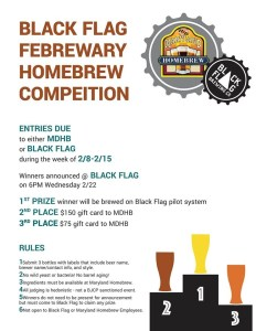 Febrewary Homebrew Competition poster