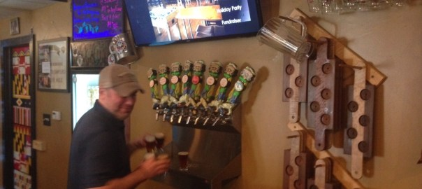 Eastern Shore Brewing Taps