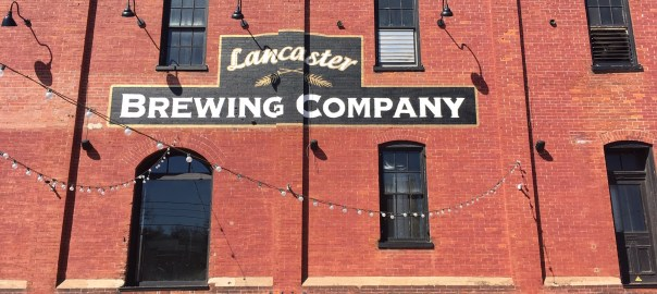 Outside Lancaster Brewing Company