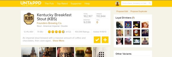 untappd screen capture