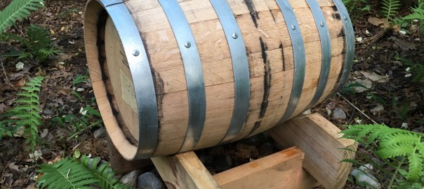 8-gallon Bourbon Barrel