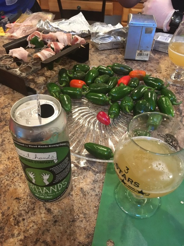 Tired Hands TopHands with Jalapenos