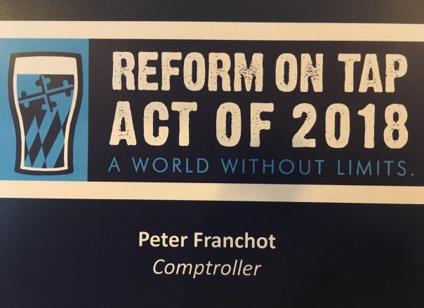 Reform on Tap Act of 2018