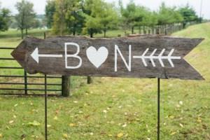 B+N signage