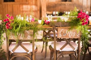 Kentucky estate wedding - Mr. & Mrs. Wedding Signs