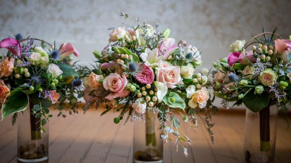 Wedding & Event Styling: Summer Wedding Bridal Bouquet by Botanical Styles