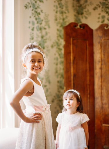 Flower Girls in Warrenwood Manor