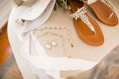 Gold Bridal Accessories