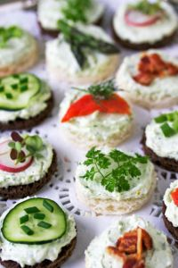 Benedictine Tea Sandwiches