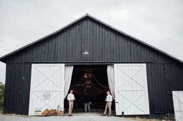 Front of Warrenwood Manor barn