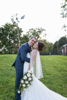 Traditional southern summer wedding