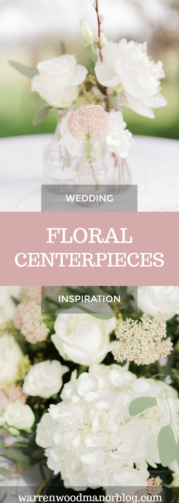Get inspiration from a gallery of different floral centerpieces