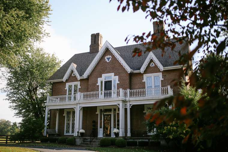Fall at Warrenwood Manor, A Central Kentucky Wedding Venue