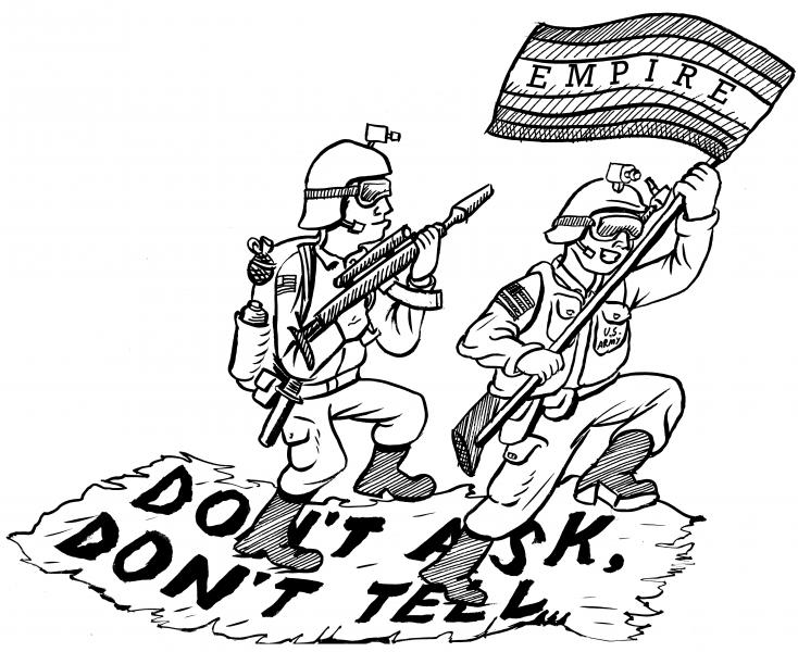 Don't Ask, Don't Tell and the Liberal Militarist Diversion