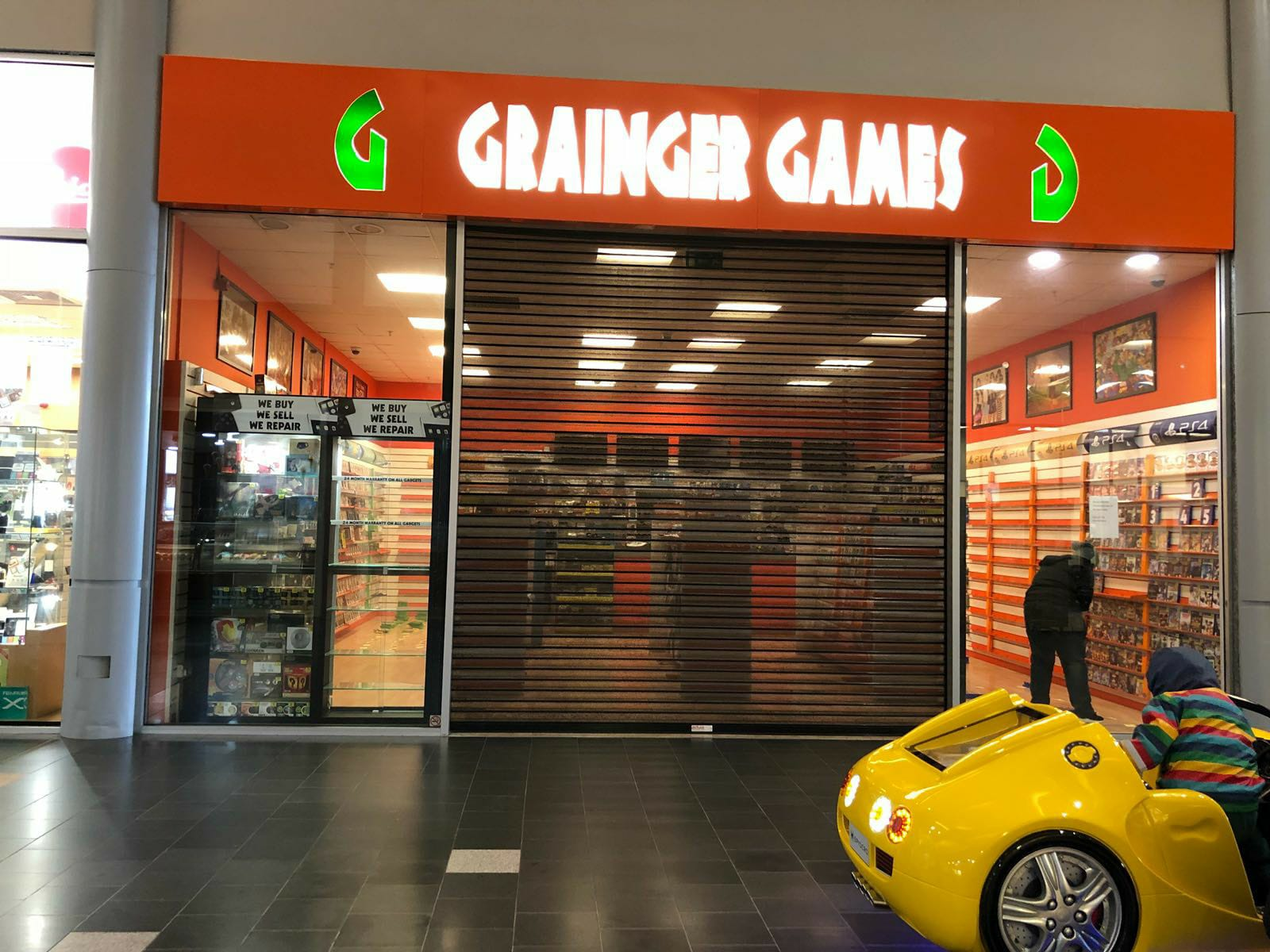 hight resolution of grainger games in golden square shuts its doors following a series of closures nationwide