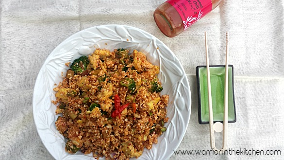 Vegetable Cauliflower Fried Rice | www.warriorinthekitchen.com