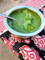Easy Palak Saag Paneer | www.warriorinthekitchen.com