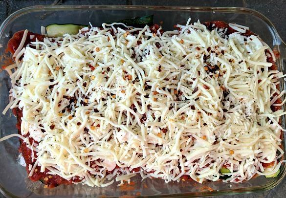 Zucchini Lasagna Tray