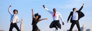successful happy people
