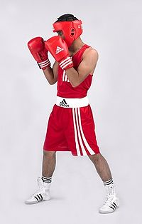 A Classic Boxing Stance In Southpaw