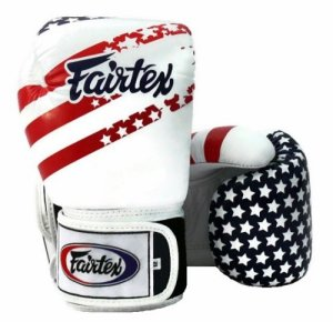Fairtex BGV1 Boxing Gloves USA Flag