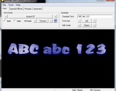 Bitmap Font Creator