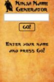Ninja Name Generator