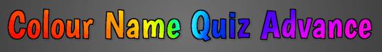 Colour name quiz advance banner