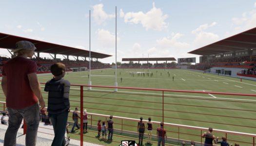Utah Warriors Rugby Stadium Rendering - by OSports