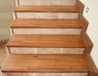 Laminated Stair Treads | Warrior Wooden Furniture | Solid ...