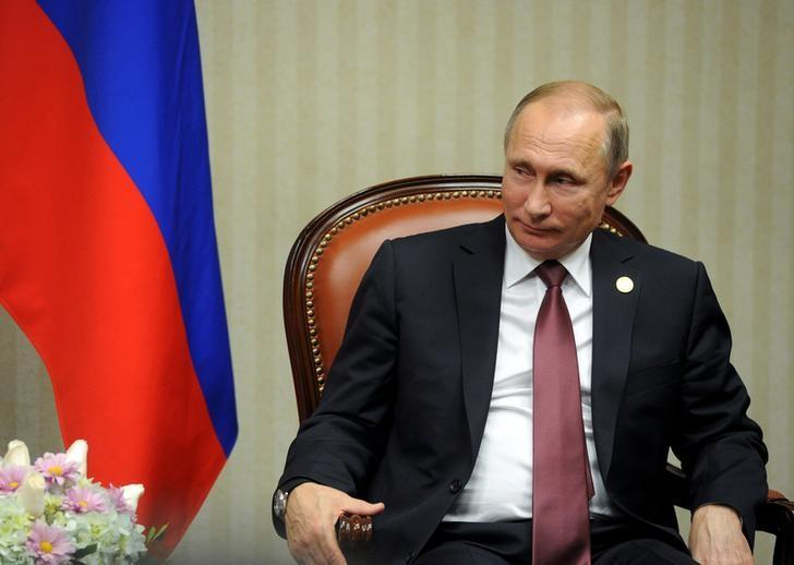 Russian President Putin attends meeting with Japanese PM Abe on sidelines of APEC Summit in Lima