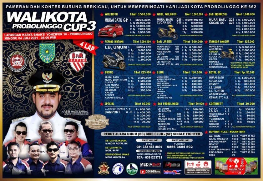WALIKOTA CUP 3 PROBOLINGGO 2021