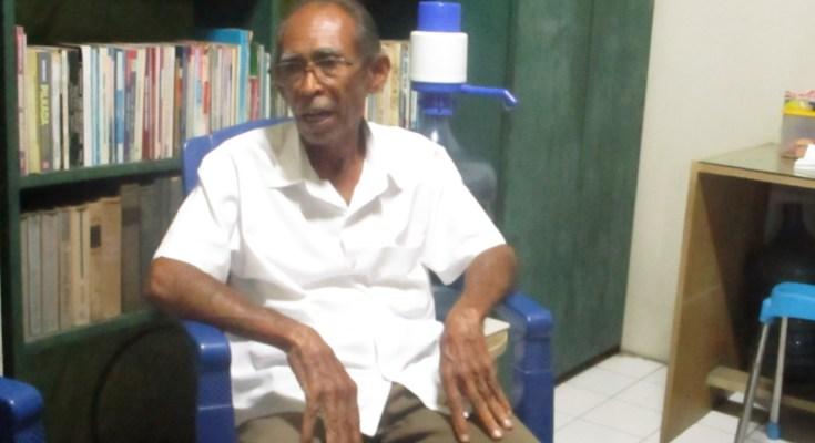 Wawancara Kru Wartamuslimin di Kediaman Usman Amiroedin di Laweyan Solo