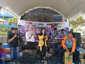 Puluhan Komunitas Kabupaten Jepara Konser Amal Peduli Palu Donggala