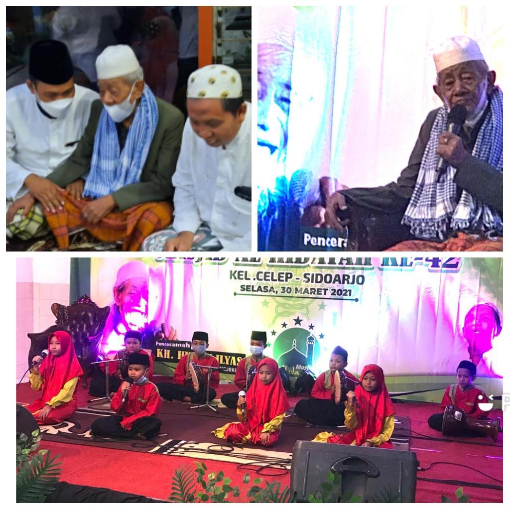 Suasana Haul Akbar dan Harlah Masjid Al Hidayah Celep