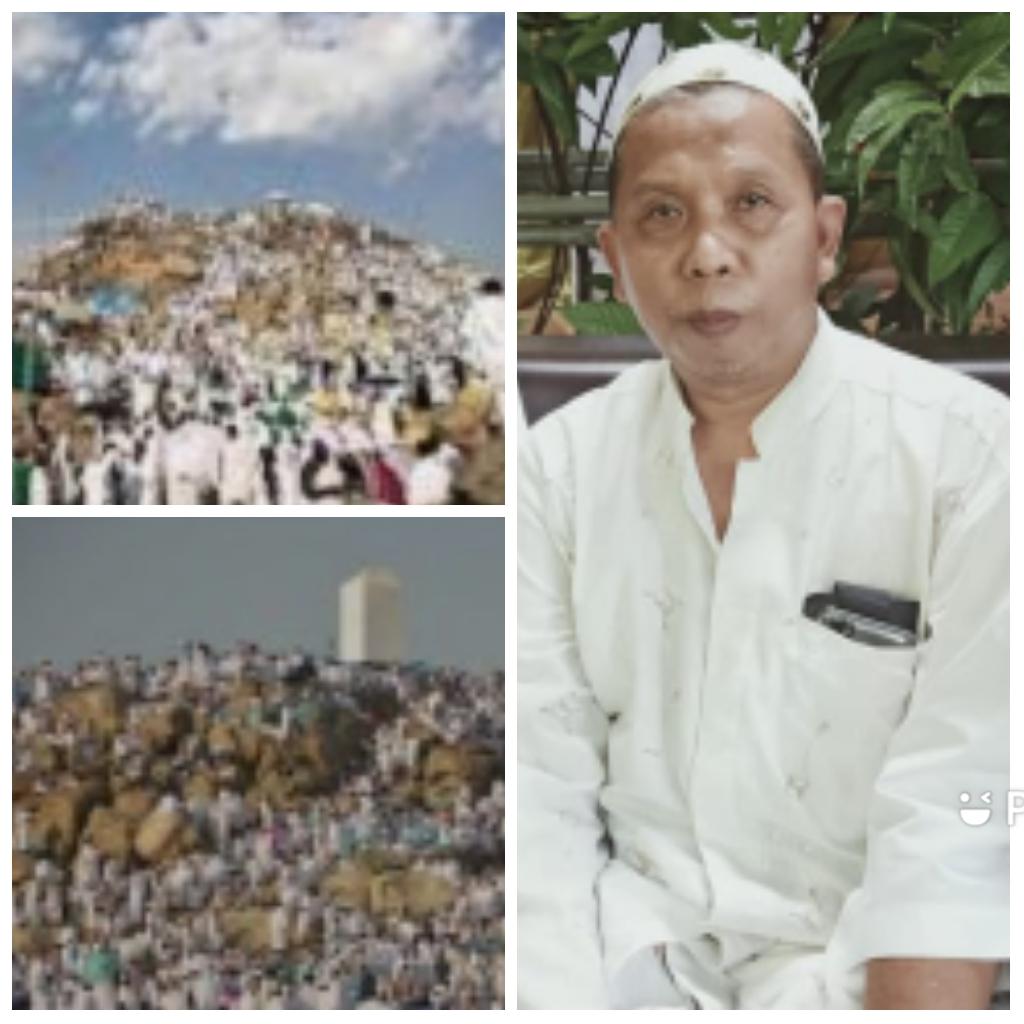Djoko Tetuko dan suasana Wukuf di Arafah
