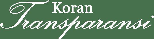 Koran Transparansi
